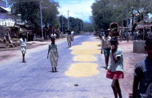 1969 S India Village winnowing