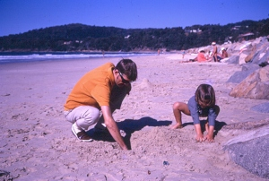 1970 Ian HM Alex Beach