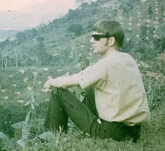 1962 Ian surveys the farm (3)