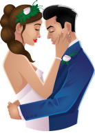 bride-clipart-wedding-couple-19