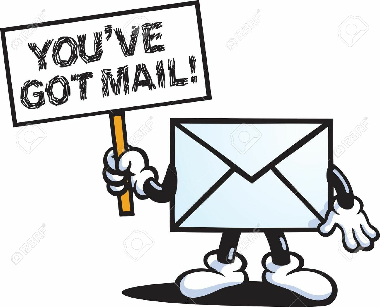 9168865-You-ve-Got-Mail-Stock-Vector-mail-email-cartoon