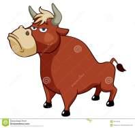 cartoon-bull-vector-28115612